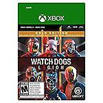Watch Dogs: Legion Gold Edition (Xbox Series X S, Xbox One Digital Code) $20