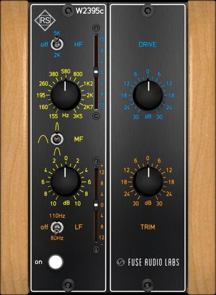 Free: Fuse Audio Labs RS-W2395c EQ plug in