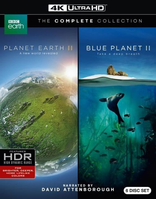 BBC Earth 4K: Planet Earth II/The Blue Planet II $29.99 and more @ Best Buy