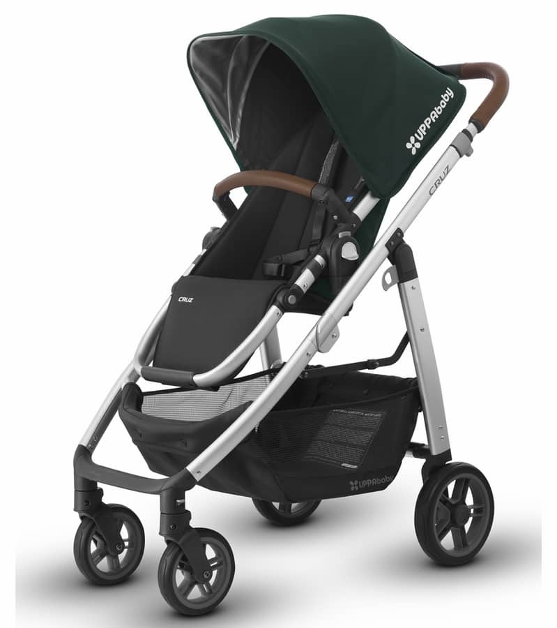 UPPAbaby 2017 Cruz Stroller (Green) $384 No Tax/Shipping