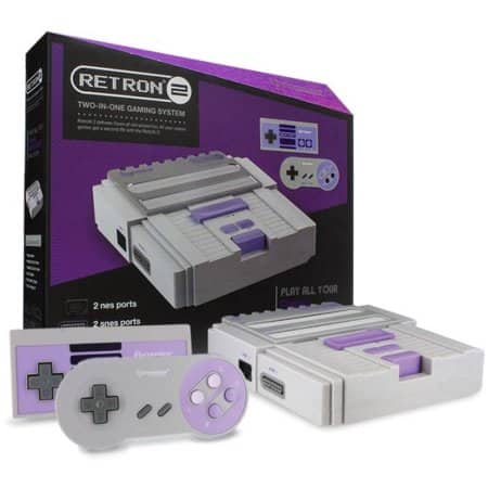 Hyperkin SNES/NES RetroN 2 Gaming Console for $33.64 on Walmart.com + FREE In store P/U option