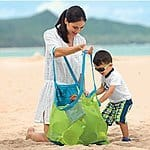 SySrion Sand Away Beach Mesh Bag Tote XL, $12.99 +FS w/ Prime @ Amazon