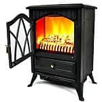 "AKDY 16"" European Style Freestanding Electric Fireplace Heater Stove $77.99 AC + FS @ Amazon"