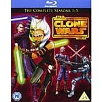 Star Wars: The Clone Wars: Complete Seasons 1-5 (Blu-Ray) $54.99 +FS @ Shark Tank Media