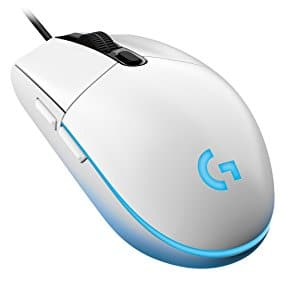 Logitech G203 Prodigy RGB Wired Gaming Mouse – White or Black $19.99