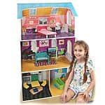 Winland Fashion Dollhouse & 7-pc. Furniture Set $27.99 + tax @Kohls.com (Kohl's Charge Card required)