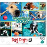 750-Pc Buffalo Games Dog Days Jigsaw Puzzle: Underwater Dogs $2.80