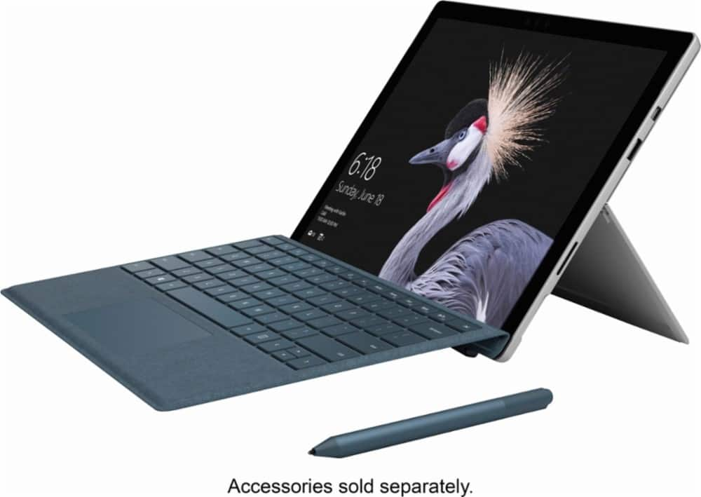 "Microsoft Surface Pro 4 - 12.3"" Touch-Screen – Intel Core m3 – 4GB Memory – 128GB Solid State Drive (Latest Model) - Silver $549"