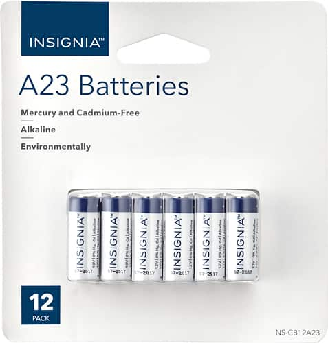 Insignia™ - A23 Battery (12-pack) $5.99 @ Best Buy