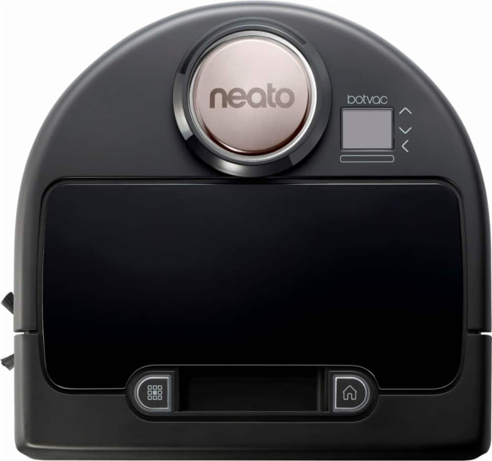 Neato Robotics - Botvac Connected App-Controlled Self-Charging Robot Vacuum - Black $379.99 Free Shipping @ Best Buy