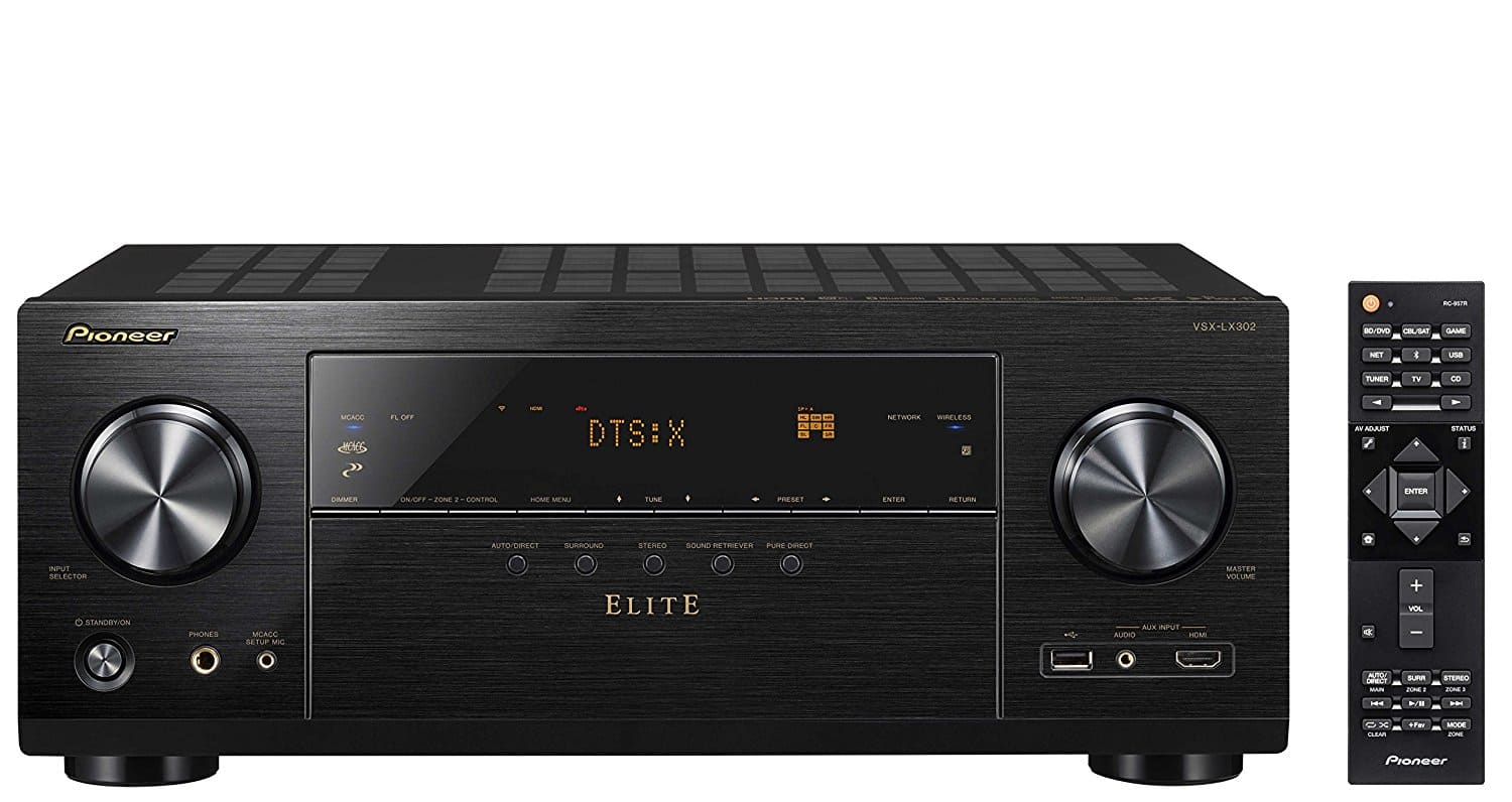 Pioneer Elite Audio & Video Component Receiver (VSX-LX302) $399 + Free Shipping