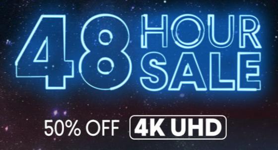 VUDU 48-Hour Sale: Digital 4K UHD Movies - Slickdeals net