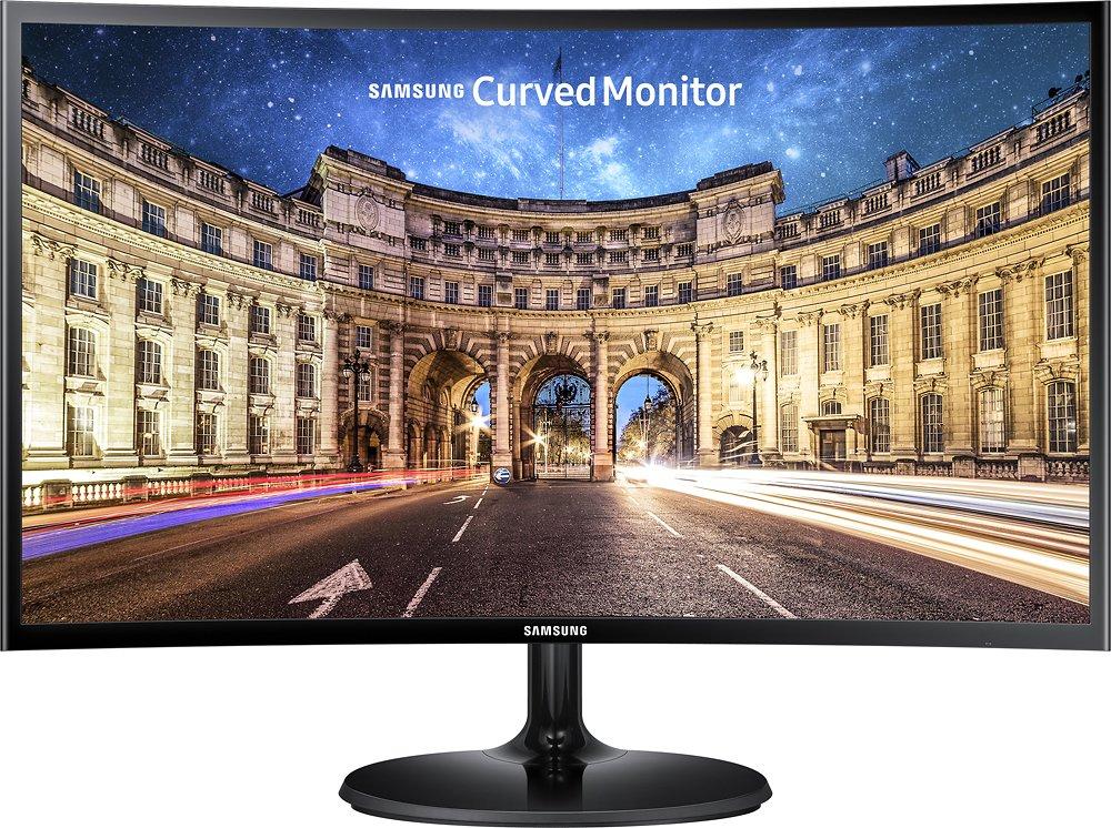 """24"""" Samsung C24F390 LED FHD Curved Monitor w/ FreeSync $120 + Free Shipping"""