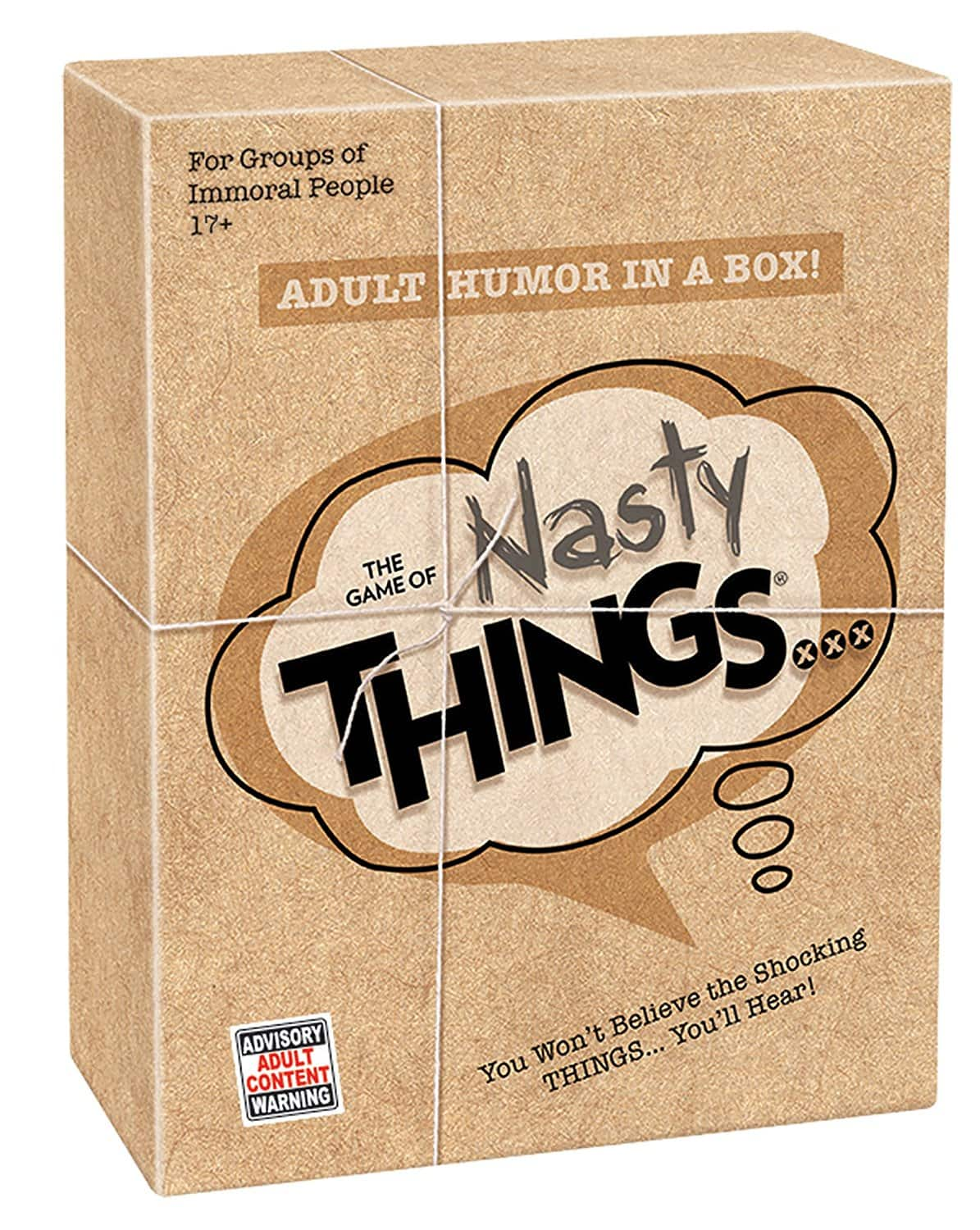 PlayMonster The Game of Nasty Things $12.24, 5 Second Rule $12.07 & More