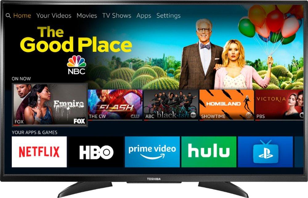 "50"" Toshiba 50LF621U19 4K UHD Amazon Fire TV Edition Smart LED HDTV $280 + Free Shipping"