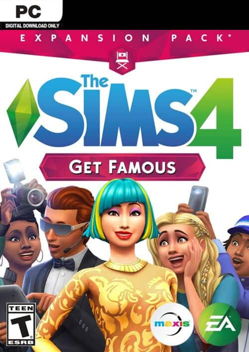 The Sims 4 Get Famous Expansion Pack (PC Digital Download) $16.09