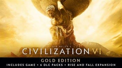 Sid Meier's Civilization VI Gold Edition (Mac or Linux Digital Download) $24.99