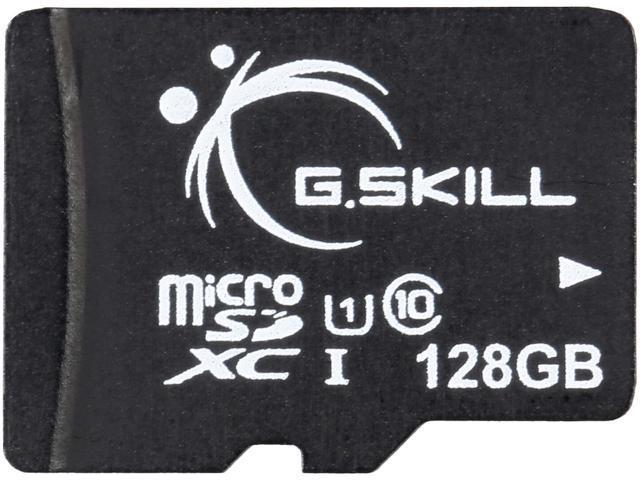 128GB G.SKILL microSDXC UHS-I Memory Card w/ Adapter $14.99 + Free Shipping @ NeweggFlash