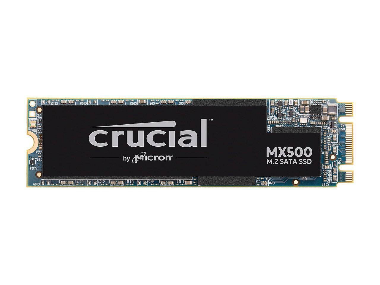 500GB Crucial MX500 M.2 2280 SATA III 3D NAND Solid State Drive $54.99 + Free Shipping