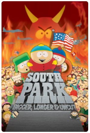 Digital HD Movies: South Park: Bigger, Longer & Uncut, Frank & Lola, Duel & More $4.99 each @ Apple iTunes