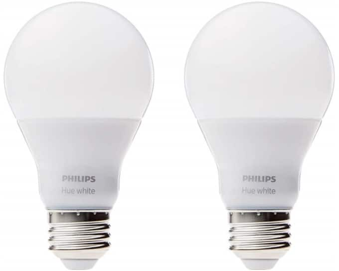 2-Pack Philips Hue White A19 Dimmable LED Light Bulbs $19.99 + Free S&H w/ Amazon Prime
