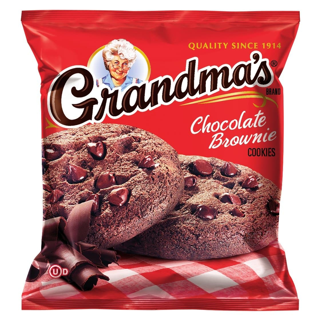 60-Pack 2.5oz Grandma's Cookies (Chocolate Brownie) $15.89 w/ S&S + Free Shipping