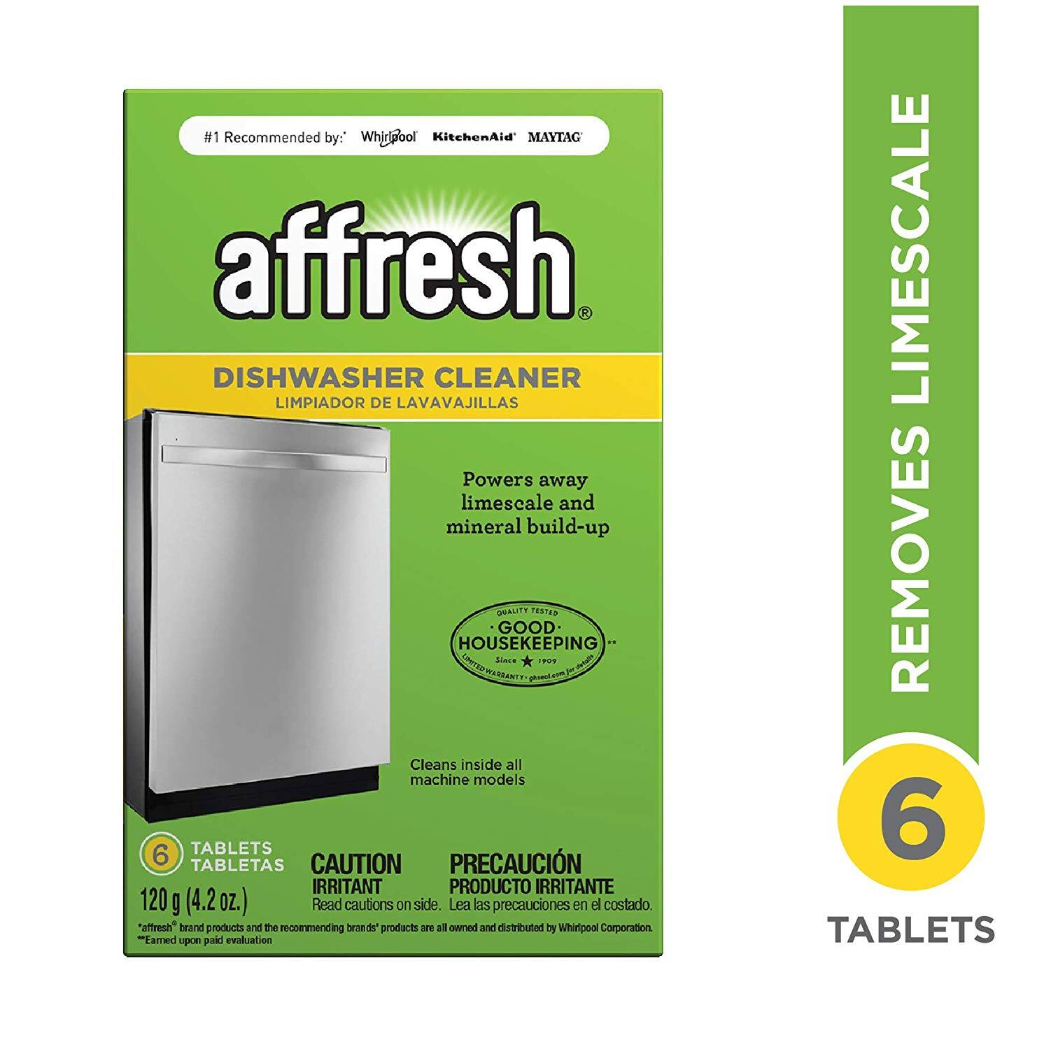 6-Count Affresh Dishwasher Cleaner Tablets $3.62 w/ S&S + Free Shipping
