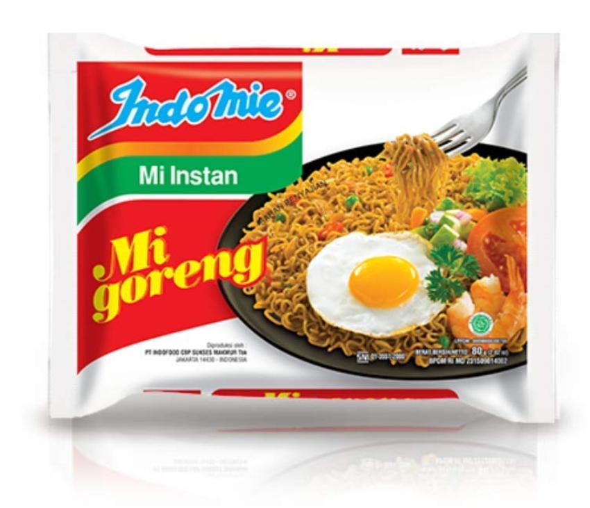 30-Pk Indomie Mi Goreng Instant Stir Fry Noodles (Original) $9.90 w/ S&S + Free S&H