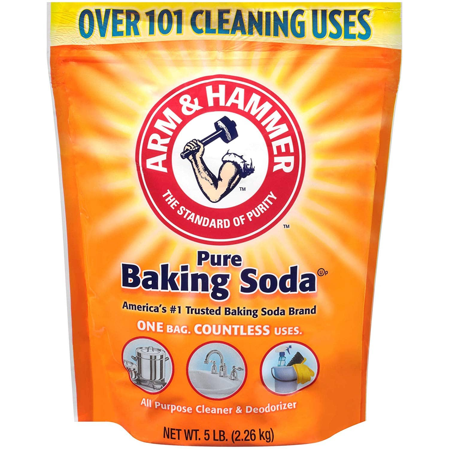 5-lbs Arm & Hammer Baking Soda $3.25 w/ S&S + Free S&H