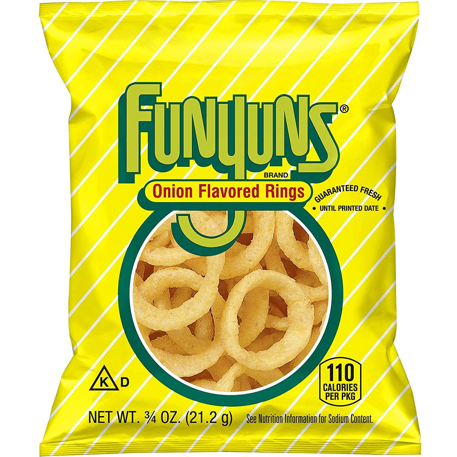 40-Pack 0.75oz Funyuns Onion Flavored Rings $9.66 w/ S&S + Free Shipping