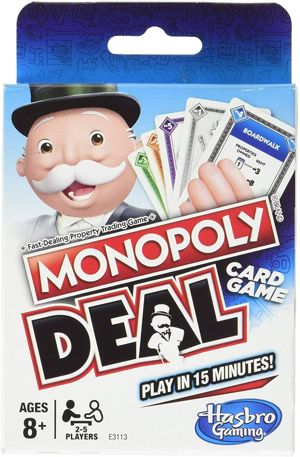 Monopoly Deal Card Game $3.99 + Free Prime Shipping
