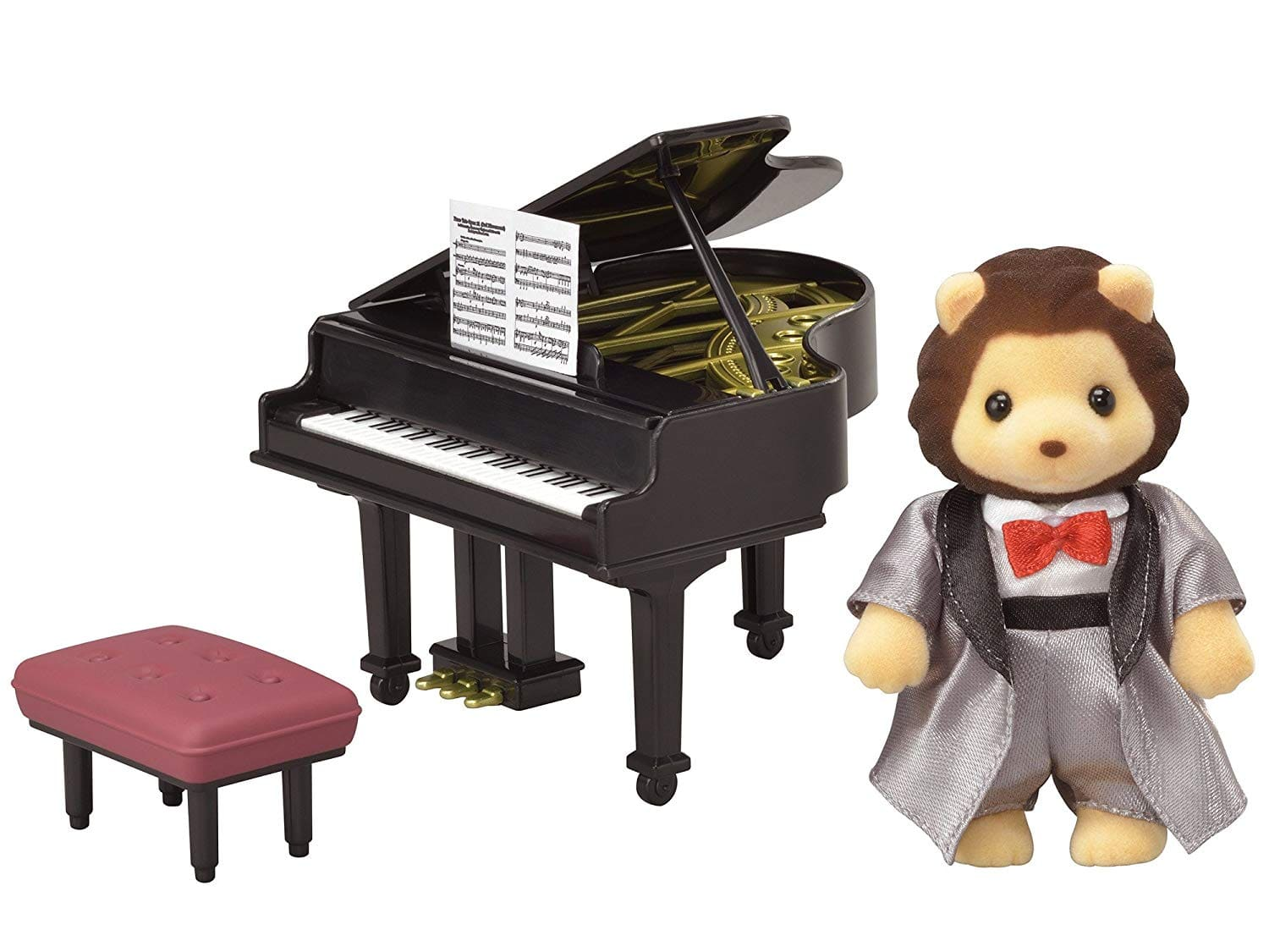 Calico Critters Town Series Grand Piano Concert Set