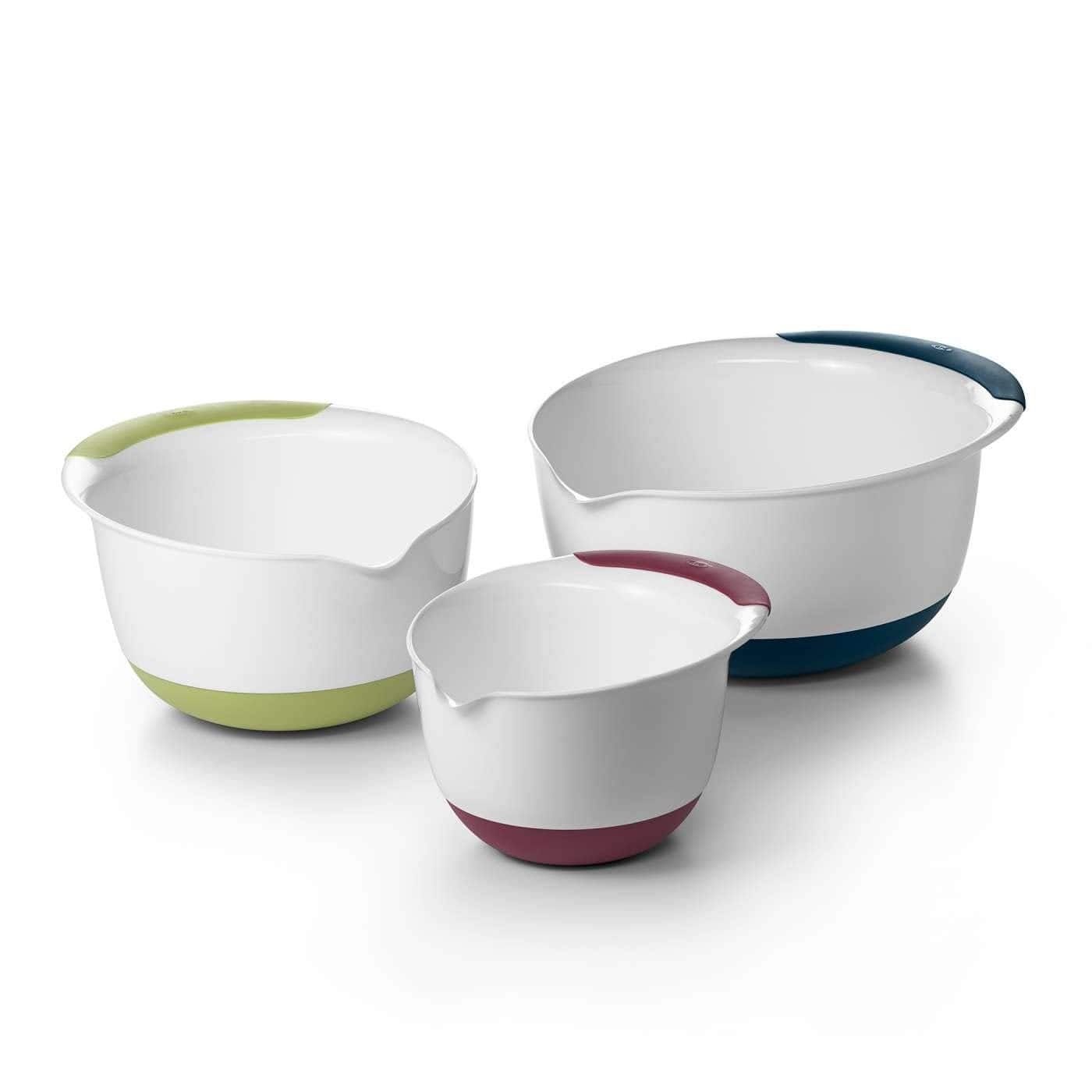 3-Piece OXO Good Grips Mixing Bowl Set