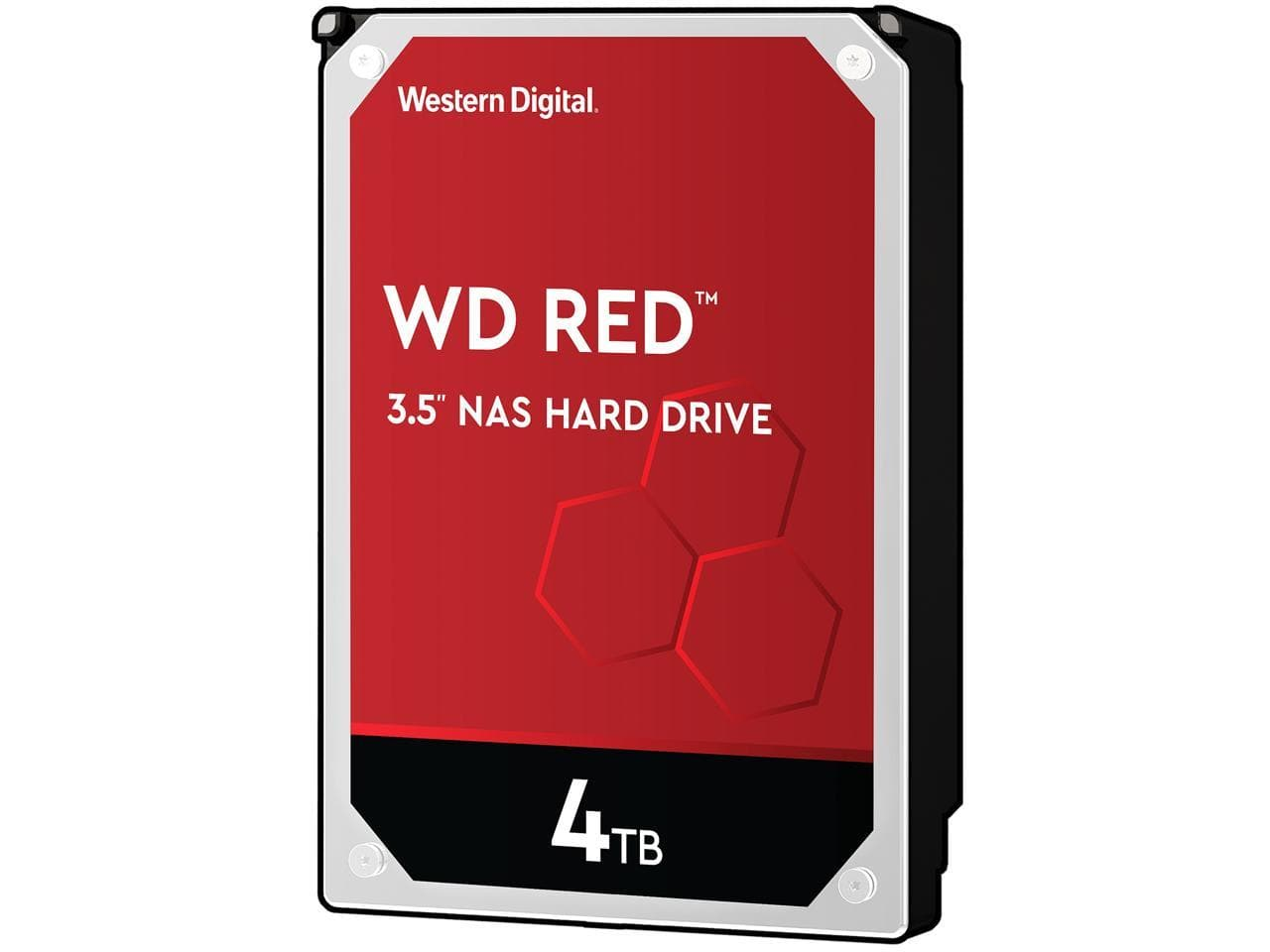 "4TB WD Red 3.5"" 5400RPM SATA 6Gb/s NAS Internal Hard Drive"