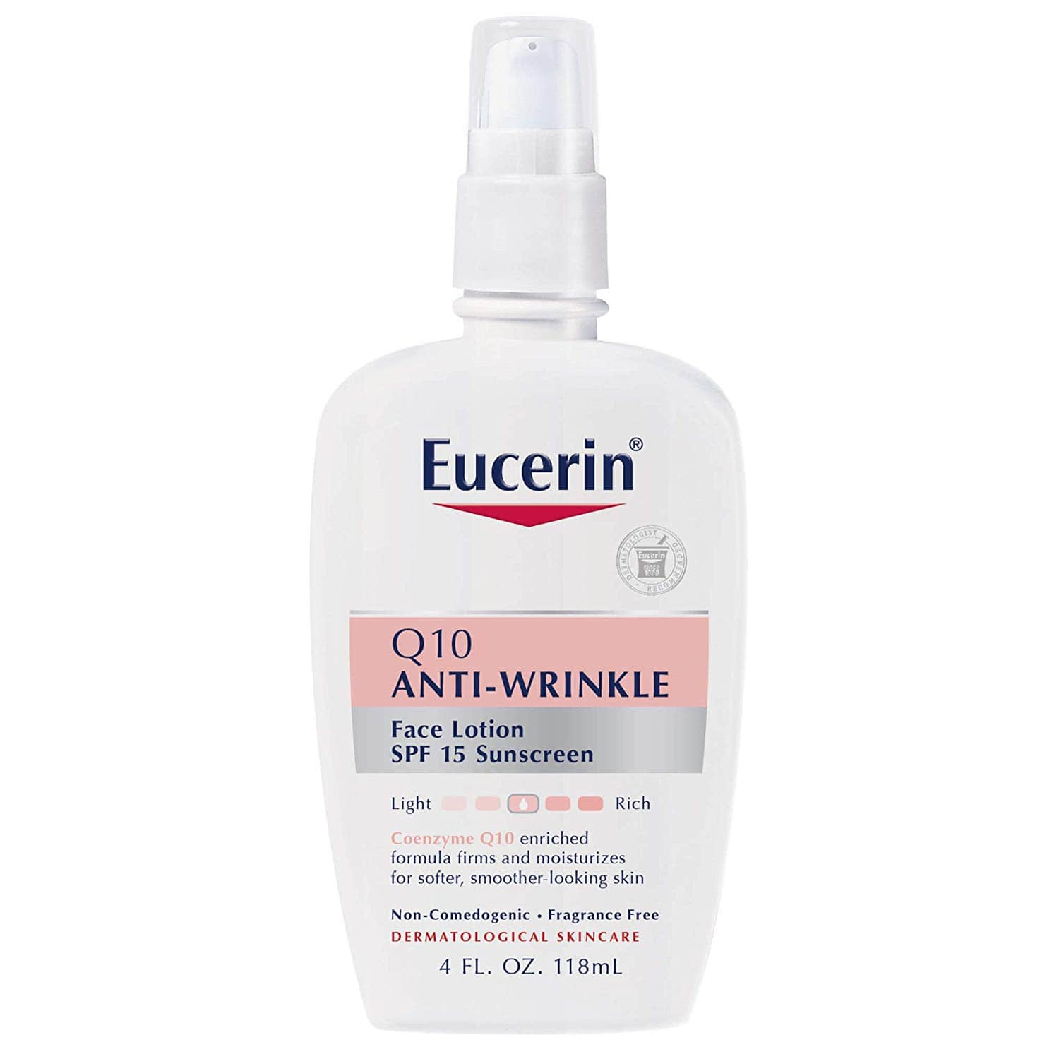 4oz Eucerin Q10 Anti-Wrinkle Face Lotion (SPF 15)