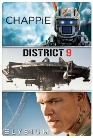 Digital 4K UHD Bundles: The Dark Knight Trilogy or Chappie, District 9, & Elysium Bundle $15 each & More @ Apple iTunes $14.99