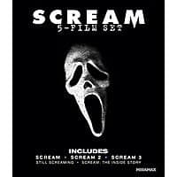 Amazon Deal: Scream: Five-Film Bluray Set for $7.99 + FS