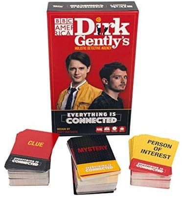 Dirk Gently's Holistic Detective Agency:  Everything is Connected Party Card Game (Amazon) $8.36