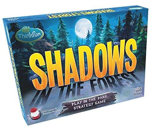 Shadows in the Forest Play in the Dark Strategy Board Game $12.49
