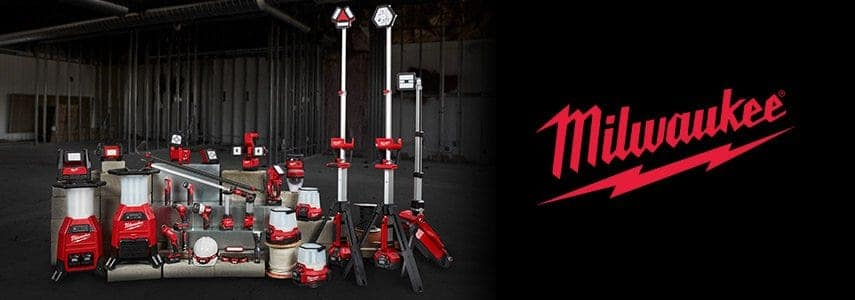 Free 8.0XC Starter Kit ($199 value!) with $159 in Milwaukee Lighting Purchase