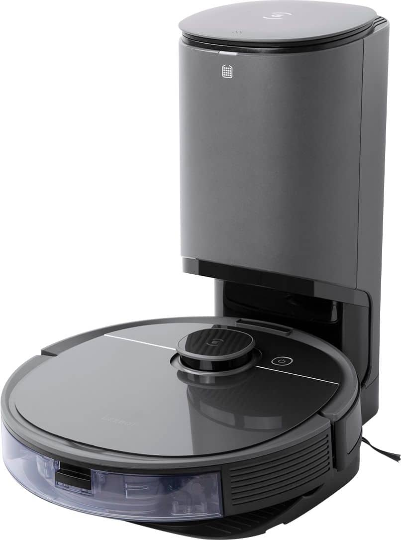 ECOVACS Robotics - DEEBOT OZMO T8+ Vacuuming and Mopping Robot with Auto-Empty Station - $649.99 at Bestbuy.com