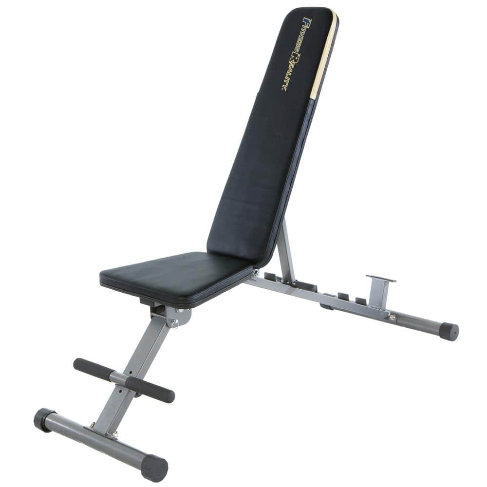 Fitness Reality 1000 Super Max Weight Bench with Upgraded Wider Backrest/Seat (2019 Version), 800 lbs. Weight Capacity $88.11