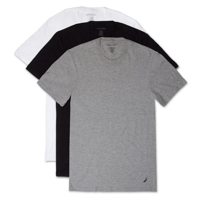 Crew T-Shirts, 3-Pack | Nautica 13.32