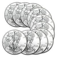 eBay Deal: 2014 1 oz Silver American Eagle (Lot of 10) $224 @Ebay via APMEX FS