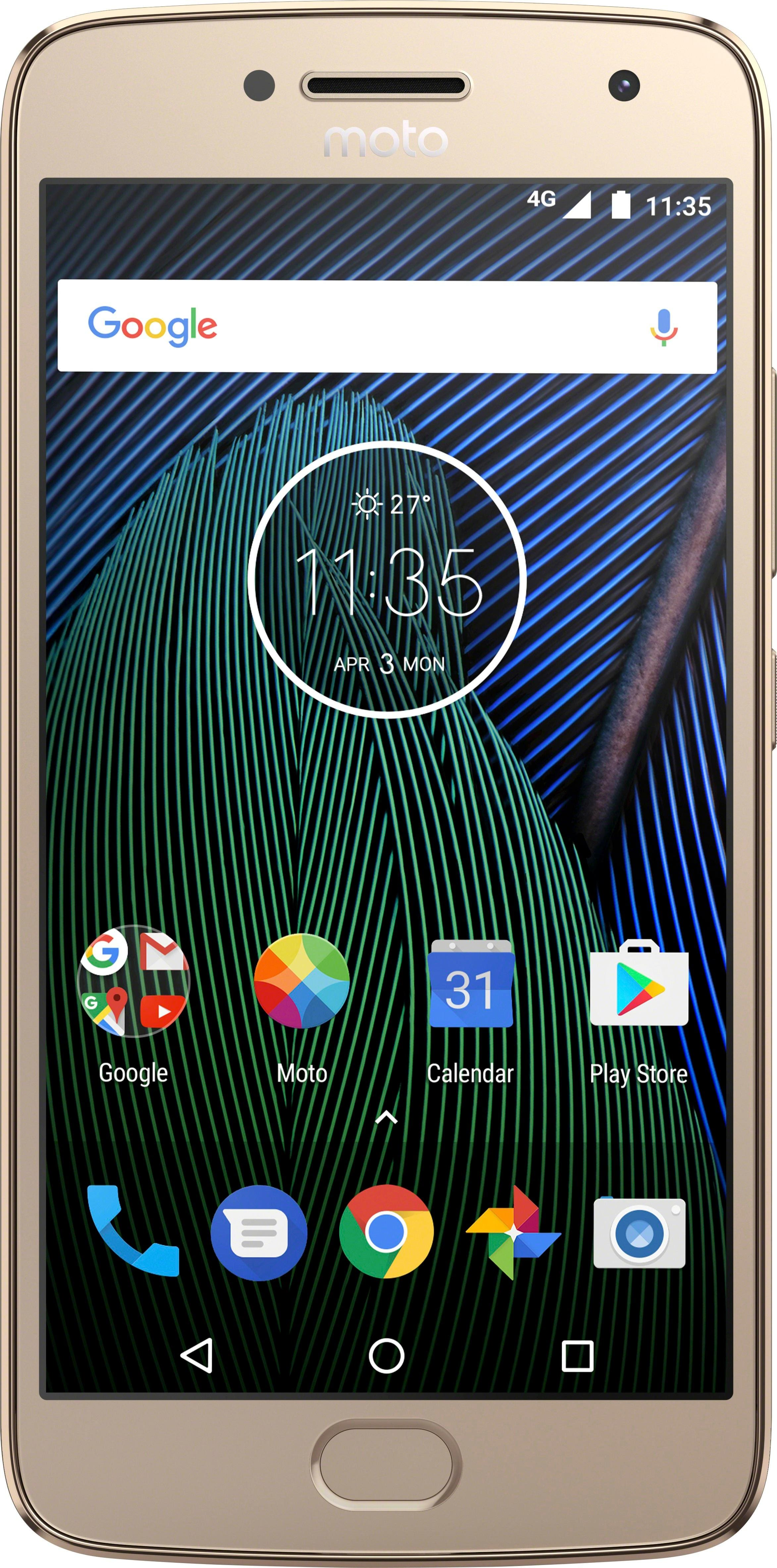 Expired. (Glitch in BB website) Motorola - Moto G Plus (5th Gen) 4G LTE with 64GB Memory Cell Phone (Unlocked) - Fine Gold or Lunar Gray $175 at BestBuy