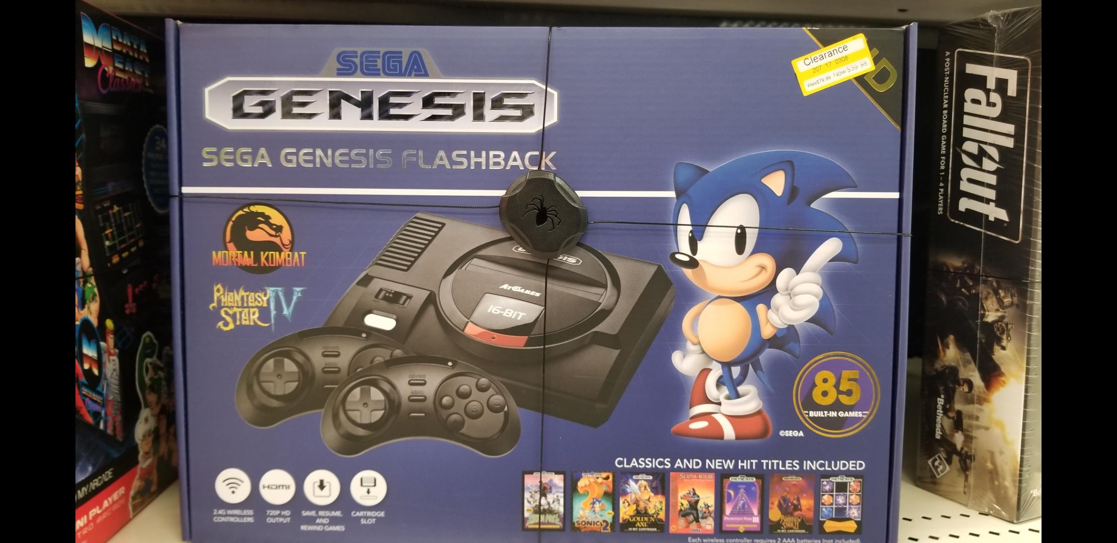 B&M YMMV Target Clearance: Sega Genesis Flashback game console $39.99