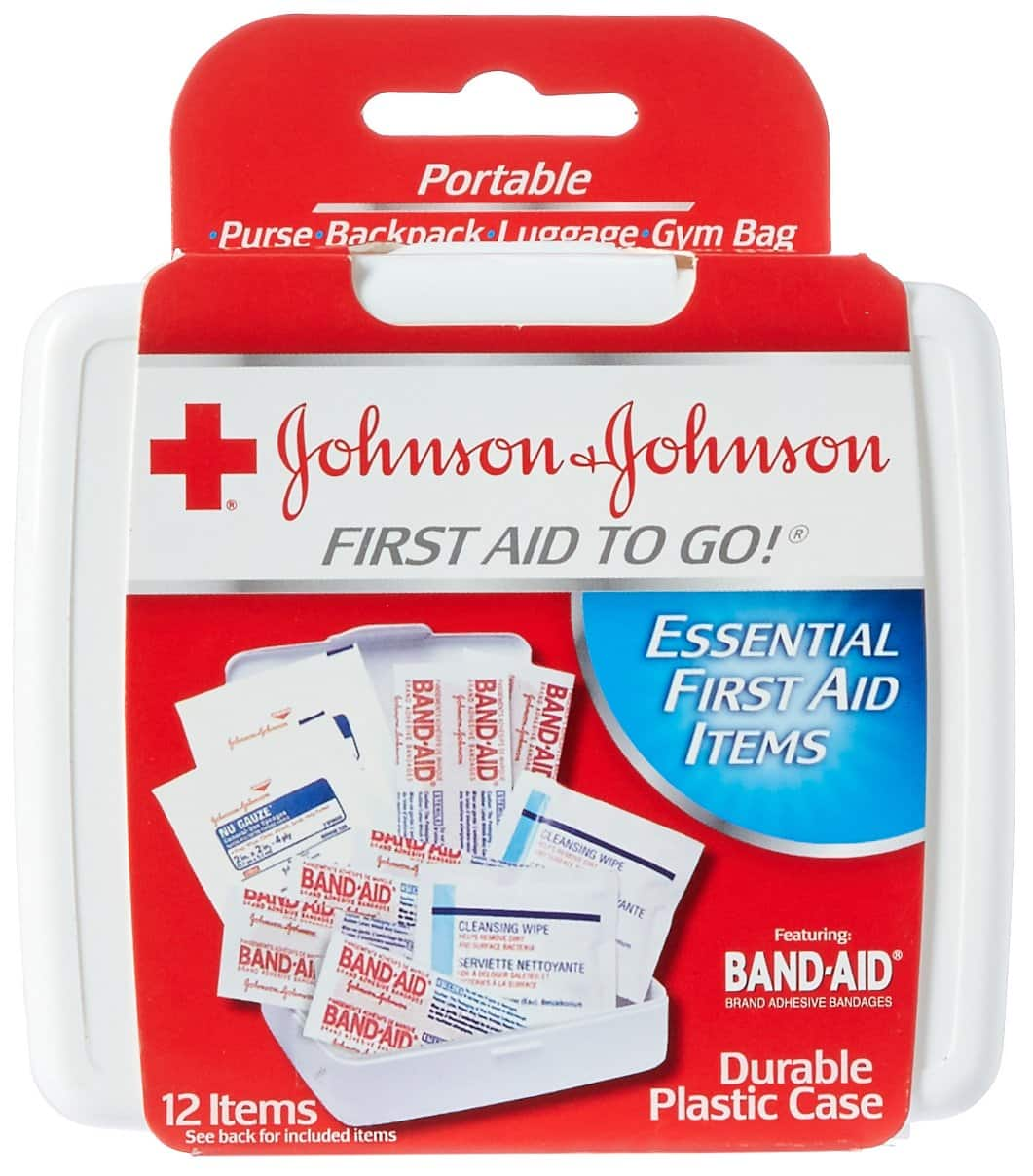 Johnson & Johnson First Aid To Go! Kit (Add-On) $0.99