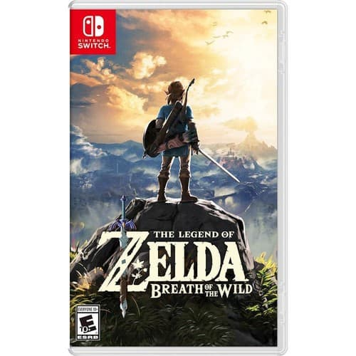 BestBuy: The Legend of Zelda: Breath of the Wild - Nintendo Switch $44.99 (GCU $35.99)