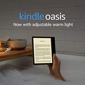 Kindle Oasis Wi-Fi Reading Tablet w/ Special Offers: 32GB $210, 8GB $185 + Free Shipping $184.95