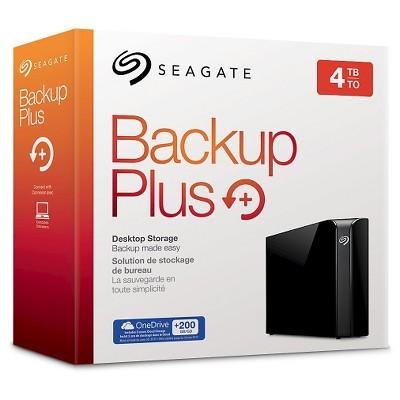 In Store Clearance (YMMV) 4TB Backup Plus Desktop USB 3.0 External Hard Drive $60
